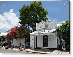 Pepe's Of Key West Acrylic Print