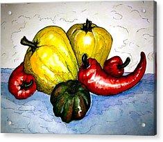 Pepper Diversity Acrylic Print