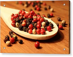 Peppercorns Acrylic Print