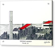 Pepperdine University Acrylic Print