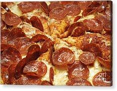 Pepperoni Pizza 1 Acrylic Print