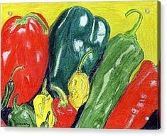 Peppers Acrylic Print