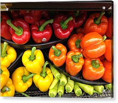 Peppers Please  Acrylic Print