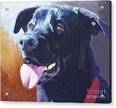 Pepper's Portrait Acrylic Print