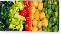 Peppers To Pucker Acrylic Print