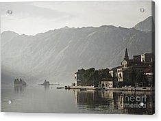 Perast Village In Montenegro Acrylic Print