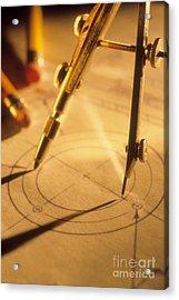 Perfect Circle Acrylic Print by Novastock