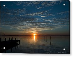 Acrylic Print featuring the photograph Perfect Ending by Kathy Ponce
