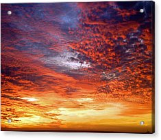 Perfect Ending Acrylic Print by Michael Durst