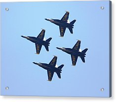 Perfect Formation I Acrylic Print by French Toast