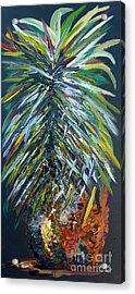 Perfect Pineapple Acrylic Print by Eloise Schneider