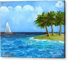Perfect Sailing Day Acrylic Print