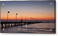 Acrylic Print featuring the photograph Perfect Sunset by Kim Andelkovic
