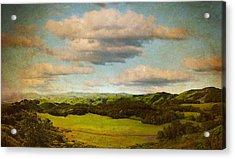 Perfect Valley Acrylic Print by Brett Pfister