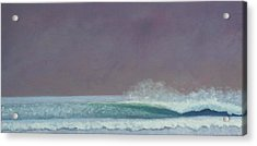 Perfect Wave Acrylic Print by Kent Pace