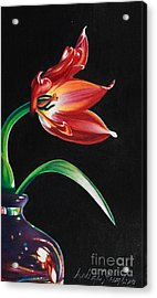 Perfumed Brilliance Acrylic Print by Arlene Steinberg