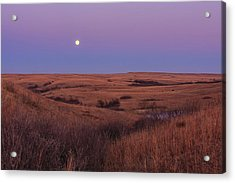 Acrylic Print featuring the photograph Perigee Moon by Scott Bean