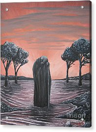 Perils Of Perdition Acrylic Print by Michael  TMAD Finney