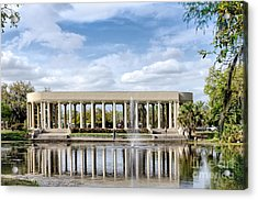 Peristyle In City Park New Orleans Acrylic Print by Kathleen K Parker