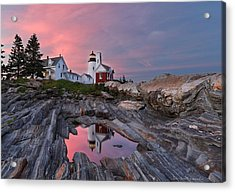Permaquid Lighthouse Acrylic Print