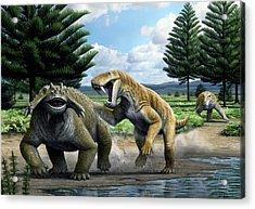 Permian Animals Acrylic Print