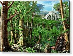 Permian Landscape Acrylic Print