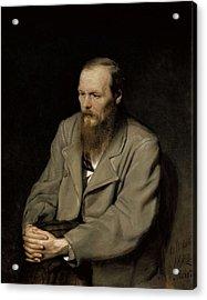 Perov, Vasily 1833-1882. Portrait Acrylic Print by Everett