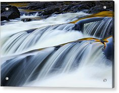 Perpetual Falling Acrylic Print by Aimelle
