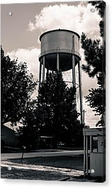 Perry Water Tower  Acrylic Print