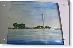 Perry's Monument Acrylic Print