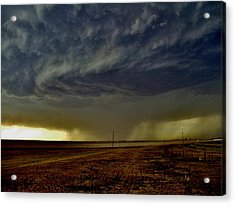 Perryton Supercell Acrylic Print by Ed Sweeney