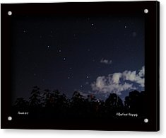 Perseids Big Dipper Acrylic Print by PJQandFriends Photography