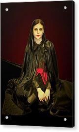 Persephone Queen Of Underworld Acrylic Print by Viktor Savchenko