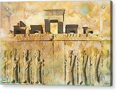Persepolis  Acrylic Print by Catf