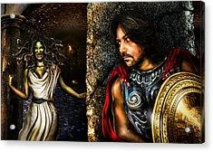 Perseus And Medusa Acrylic Print