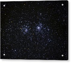 Acrylic Print featuring the photograph Perseus Double Cluster Ngc 869 by Dennis Bucklin