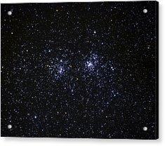 Perseus Double Cluster Ngc 869 Acrylic Print by Dennis Bucklin