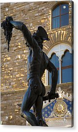 Perseus Statue - Florence Acrylic Print