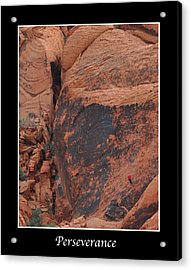 Perseverance Acrylic Print by Kirt Tisdale