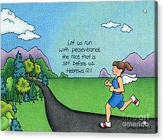 Perseverance Acrylic Print by Sarah Batalka