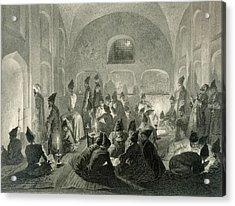 Persian Mosque At Yerevan, Armenia Acrylic Print by Grigori Grigorevich Gagarin