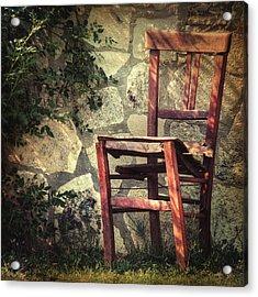 Persistence Of Memory Acrylic Print by Taylan Apukovska
