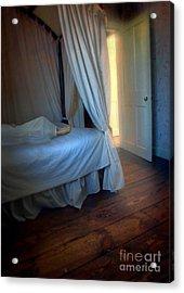 Person In Bed Acrylic Print by Jill Battaglia