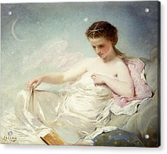 Personification Of The Sciences Acrylic Print