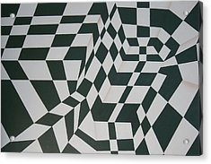 Perspective Confusion Acrylic Print by Leana De Villiers