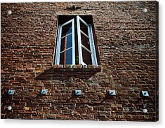 Perspective In Brick Acrylic Print