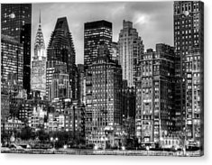 Perspectives Bw Acrylic Print by JC Findley