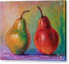 Persuasive Pear Acrylic Print
