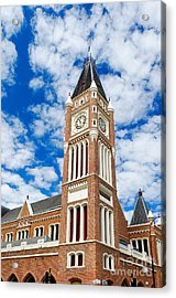 Acrylic Print featuring the photograph Perth Town Hall by Yew Kwang
