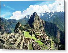 Peru, Machu Picchu, The Lost City Acrylic Print